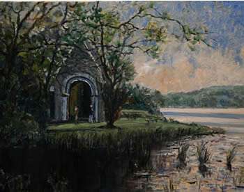 Gougane Barra - Limited Edition of only 80 - Numbered and Signed by the Artist Pat Fox